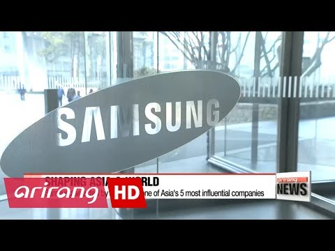 Samsung selected as one of 5 most influential companies that shaped Asia and the world: Forbes