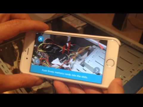 Augmented Reality Maintenance Demo - ARmedia SDK