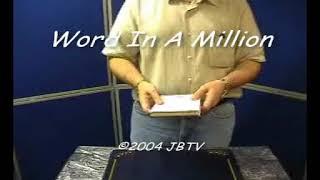 Video: Word In A Million - Nicholas Einhorn and JB Magic