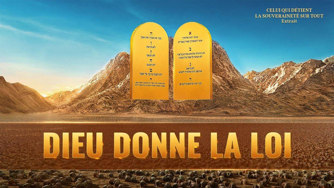 Documentaire chrétien en français « Dieu donne la loi »