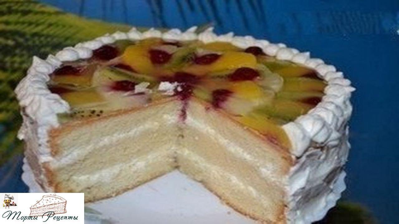 самый пышный бисквит для торта фото и рецепт