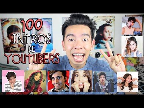 100 INTROS DE YOUTUBERS - Ami Rodriguez