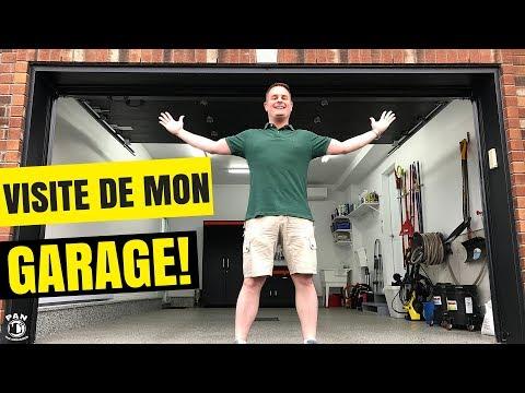 VISITE DE MON GARAGE D'ESTHÉTIQUE DE VOITURES !!!