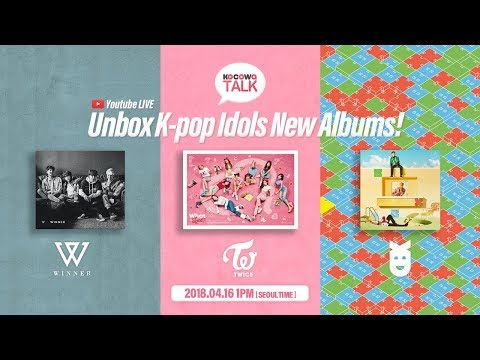 Cover Lagu [KOCOWATALK] Unbox K-pop Idols New Albums STAFABAND