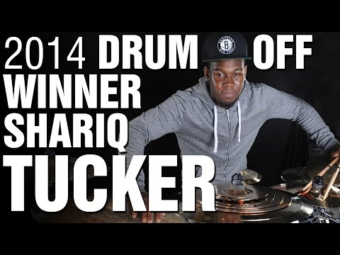 2014 Guitar Center Drum-Off Winner - Shariq Tucker
