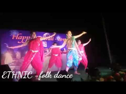 ETHNIC folk dance(Marathi)