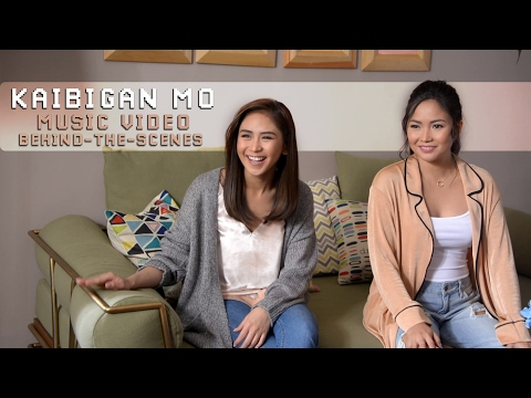 Sarah Geronimo feat. Yeng Constantino — Kaibigan Mo [Music Video Behind-The-Scenes]
