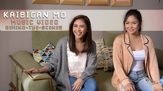 sarah geronimo feat yeng constantino — kaibigan mo music video behind the scenes