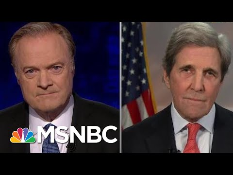 John Kerry Fact Checks Trump's Lies About The Iran Deal | The Last Word | MSNBC