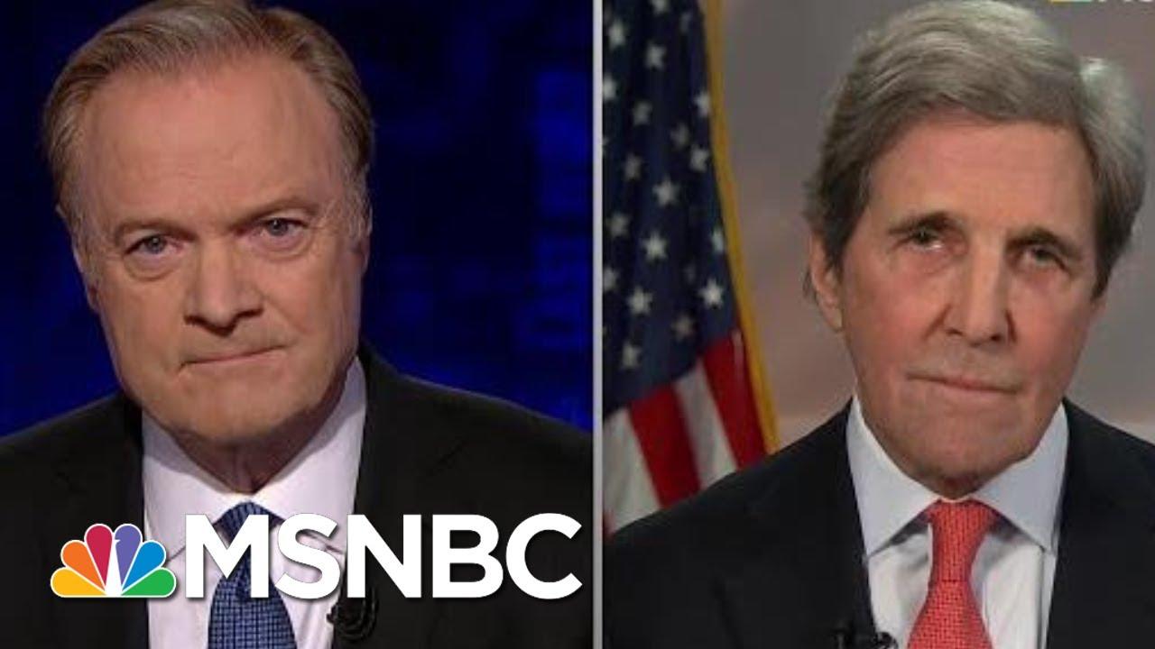 John Kerry fact checks Trump's lies about the Iran deal