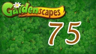 Gardenscapes level 75 Walkthrough