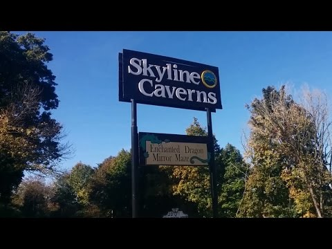 Tour of Skyline Caverns in Front Royal, Virginia