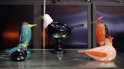 Iittala + Oiva Toikka's Birds Live Streamed Demonstration