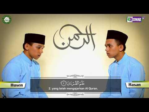 HASAN & HUSEN ( SURAT AR-RAHMAN :1-16 )