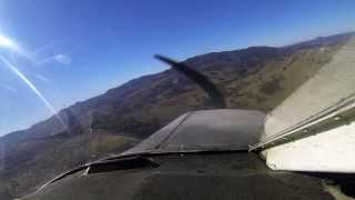 Landing at KCPU Calaveras County Airport CA