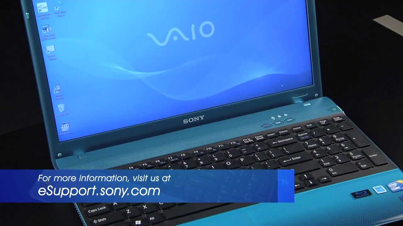 Sony Vaio VPCEH11FX/L Shared Library Treiber Windows 7