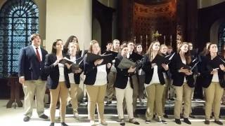 Centenary College Choir at St. George's Bloomsbury,  London