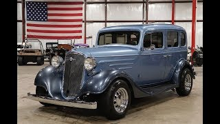 1935 Chevy Standard Blue