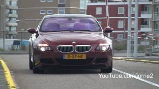 Red BMW M6 + Maserati 3200GT w/ Supersprint exhaust Sound! - 1080p HD