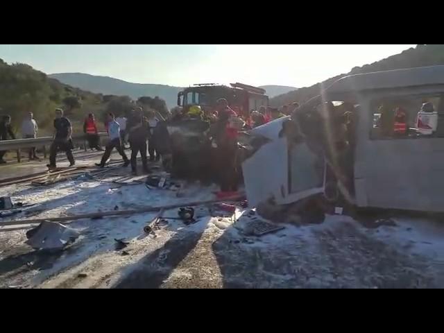 4 قتلى في حادث مروع في الشمال