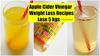 Apple Cider Vinegar For Weight Loss - Lose 5 kgs - Fat Cutter Morning Routine Drink Recipe