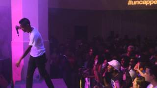 "live performance: The Internet, ""Dontcha"" at #uncapped - vitaminwater & FADER TV"
