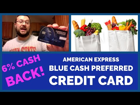 American Express Blue Cash Preferred Review | 6% Back For Grocery (inc. Walmart Online Grocery)