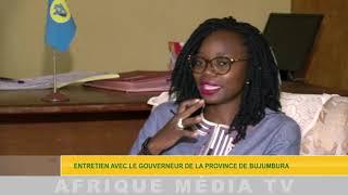 ENTRETIEN AVEC LE GOUVERNEUR DE LA PROVINCE DE BUJUMBURA OK