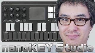 【次回】KORG nanoKEY Studio がやってきた!中編 (2/3) https://youtu....