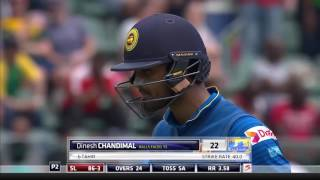 South Africa vs Sri Lanka - 1st ODI -  SL Innings Highlights
