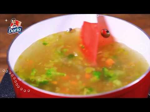 Sopa de Quinua con Verduras - Quinua Doria