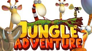 Gazoon - The Jungle Adventure | Funny Animal Cartoon | Cartoon For Kids