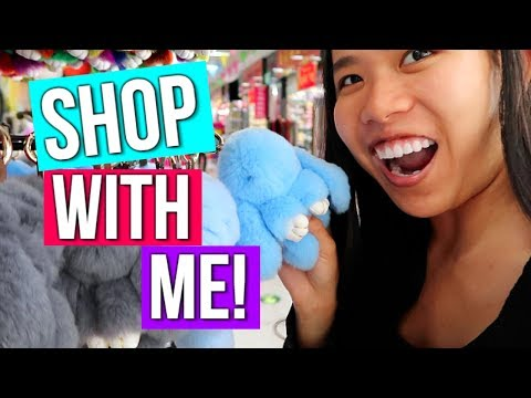 SHOP WITH ME 2017! SHOPPING IN YIWU CHINA 2017! WEIRD THINGS YOU SEE IN CHINA! MINI HOTEL ROOM TOUR!