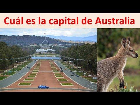 cual es la capital de Australia