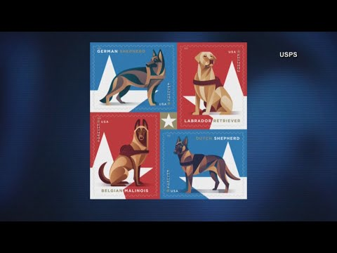 Wendy - You Can Now Get Stamps Featuring Our Military Working Dogs