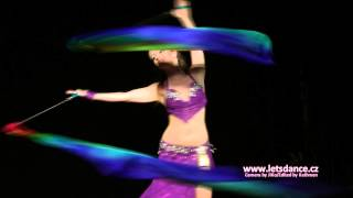 Let's Dance Prague Oriental Competition 2015 - Paola - Veil poi
