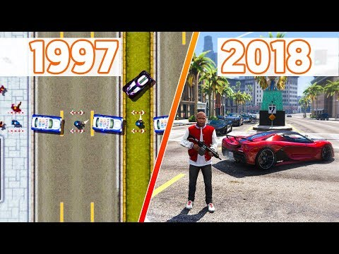 Playing EVERY GTA GAME Ever Made!