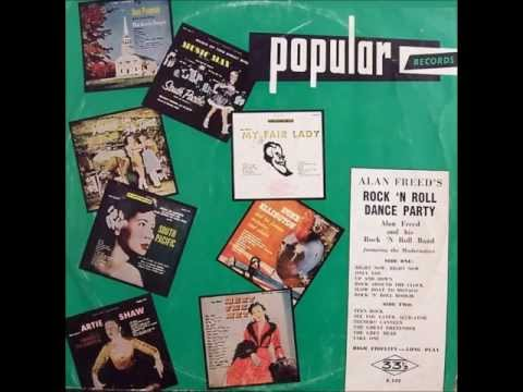 Alan Freeds RockN Roll Dance Party COMPLETE ALBUM AS RELEASED