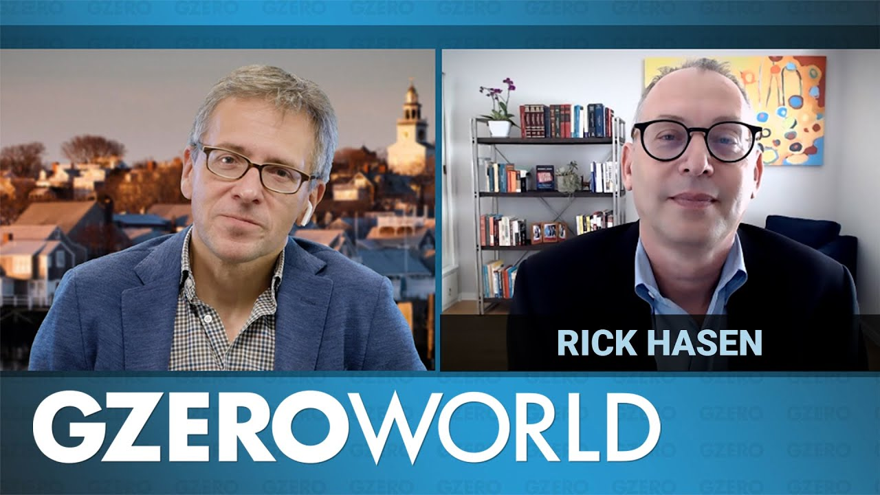 Download An Interview With Rick Hasen | Election Meltdown | GZERO World