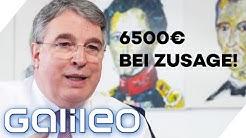 6500€ Einstellungsprämie! Wieso bezahlt man Bewerber? | Galileo | ProSieben