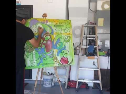 Como hacer una pintura estilo picasso facil