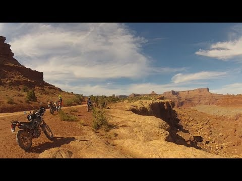 White Rim Road on a TW200! (Canyonlands National Park) - Moab 2017