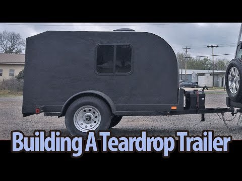 DIY Teardrop Camp Or Micro Trailer Learn How To Build Your Own!