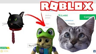 CHESTER THE CAT TESTING ROBLOX CAT ITEMS