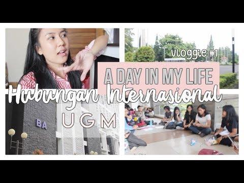 Vloggie #1 Hari Produktif di Hubungan Internasional UGM | A Day in My Life College Edition ♡