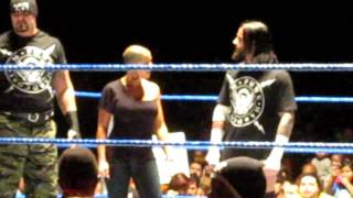 CM Punk Ejects Fans and Causes Melee At Cow Palace San Francisco