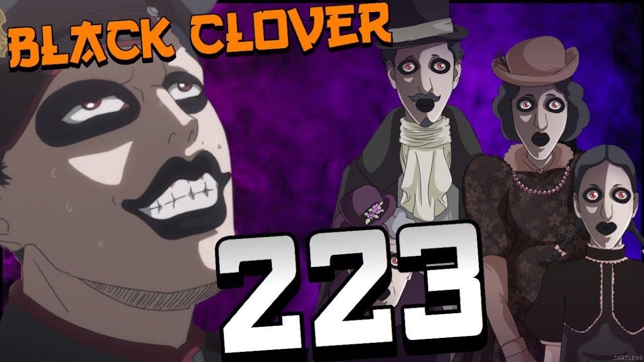 The Spooky Gordon Family Black Clover Chapter 223 Youtube