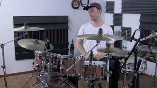 Audix D2 & D4 - Studio quality demo on drums