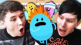 DUMB WAYS TO DIE - Dan vs. Phil!
