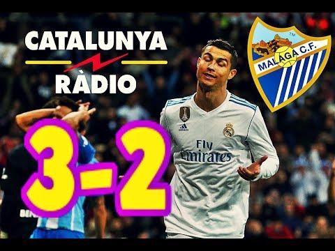 AUDIO CATALUNYA RADIO | REAL MADRID 3-2 MÁLAGA